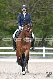 Stapleford Abbotts. United Kingdom. 30 April 2021. British dressage. MANDATORY Credit Garry Bowden/Sport in Pictures - NO UNA...
