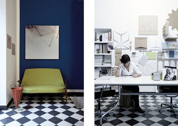 Home and workspace of architect and designer Elena Cerizza.