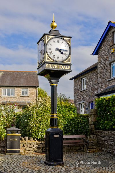 SILVERDALE 04A - Millennium Clock Tower
