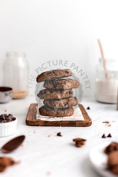 Chocolate Cookie Stack