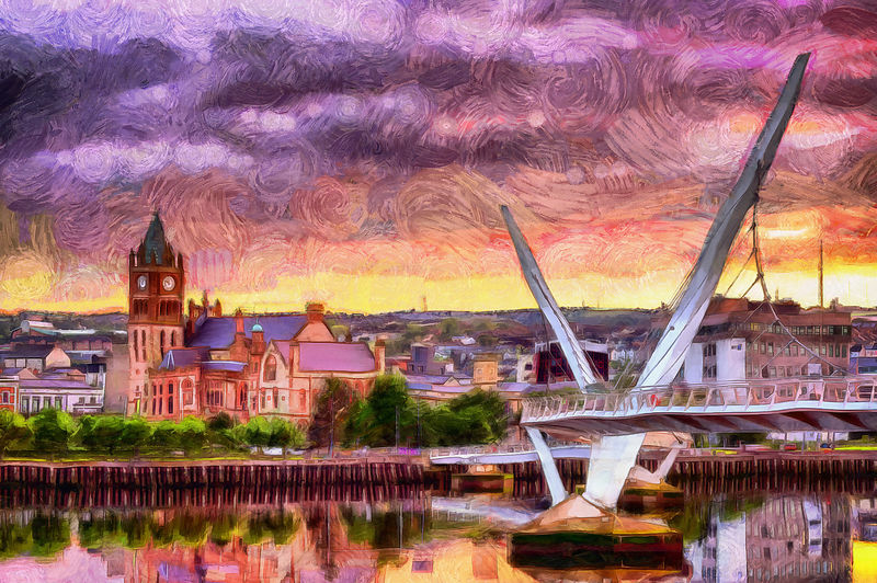 Derry Icons @ Sunset Painting