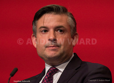 England, UK . 26.9.2017. Brighton. Labour Party Conference Tuesday. Jonathan Ashworth..