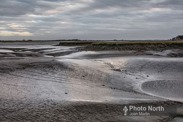 SUNDERLAND POINT 28A - The mud banks of Lades Marsh
