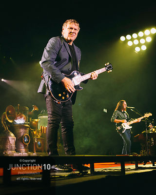 Rush in concert at the LG Arena, Birmingham, United Kingdom Picture Date: 26 May, 2013