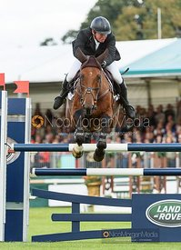 Matthew Heath and THE LION - Show jumping and prizes - Land Rover Burghley Horse Trials 2019