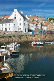Image - Crail harbour, East Neuk of Fife, Scotland.