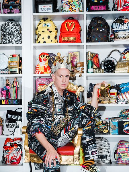 Jeremy Scott at Moschino office in Milano
