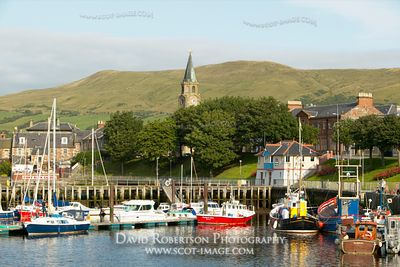 Image - Girvan harbour, South Ayrshire, Scotland