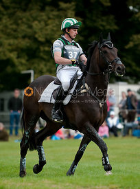 Michael Owen and King Bob at Burghley Horse Trials 2009 - Land Rover Burghley Horse Trials 2009