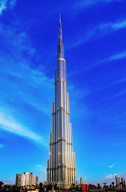 burj khalifa view, Dubai, middle east
