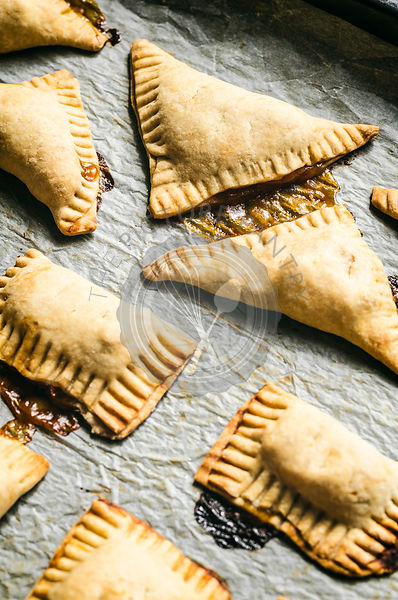 Vegan Apricot Turnovers
