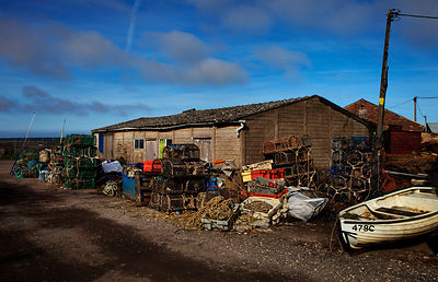 Fish shed, Wells-next-the-Sea, North Norfolk.