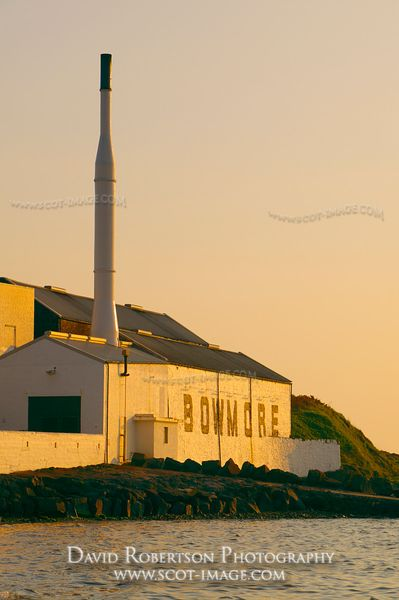 Image - Morrison Bowmore Distillery beside Loch Indaal, Isle of Islay, Scotland