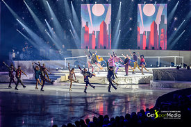 Marco Rima & Art on Ice Skaters