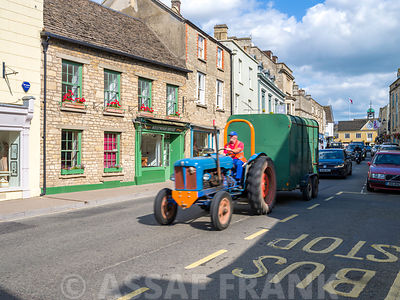 Street of Tetbury town, Cotswolds