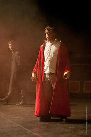 #72190,  Dress Rehearsal for Shakespeare's, 'Macbeth', Rose Bruford College, Sidcup, Kent.