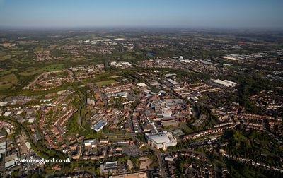 Redditch aerial photograph
