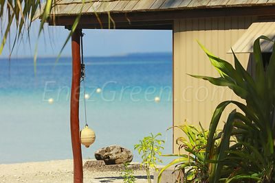Ahe atoll Cocoperle bungalow