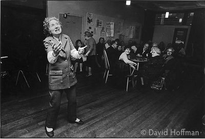C70-29 Old people's clubs in Whitechapel and Shoreditch, 1974 & 1975.