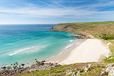 Gwynver (Gwenver) Beach, near Sennen, Cornwall - BP6734