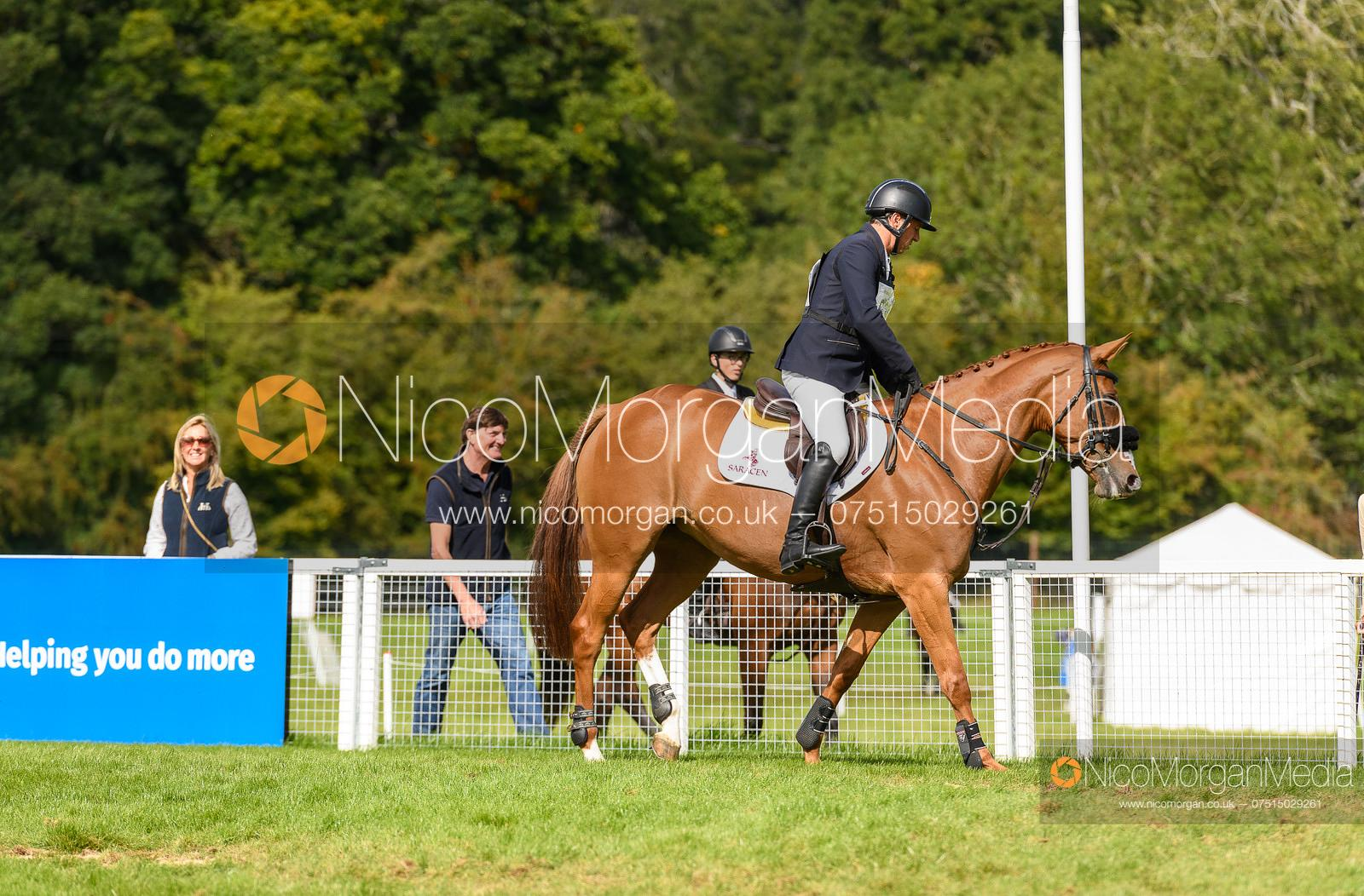 Sam Griffiths and GOLDEN YEARS - Cornbury House Horse Trials 2020
