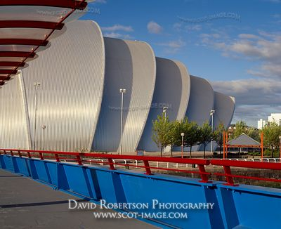Image - SECC, Armadillo, Bells Bridge, Glasgow, Scotland
