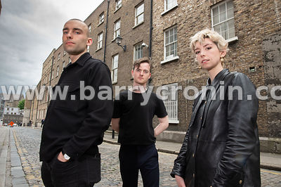 30th May, 2019.The band Soda Blonde consisting of Adam O'Regan, Faye O'Rourke (Lead vocals) and Dylan Lynch.Photo:Barry Croni...