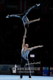 WCH Men's Pair Qualification Azerbaijan - Balance