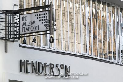 Image - The Willow Tearoom on Sauchiehall Street, Glasgow, Scotland.