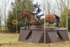 Phoebe Locke and UNION FORTUNUS - Intermediate Sections - Oasby Horse Trials, March 2018.
