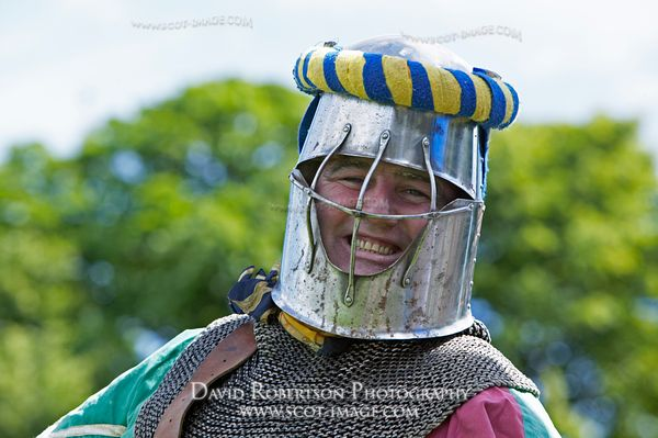 Image - Smiling Knight at a historical re-enactment
