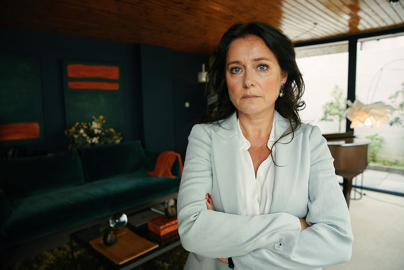 Sidse Babett Knudsen, unit stills photography, The Accident