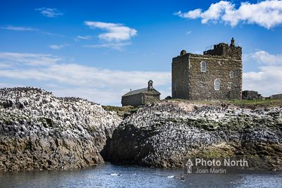 FARNE ISLANDS 05A - St Cuthberts Chapel and Tower