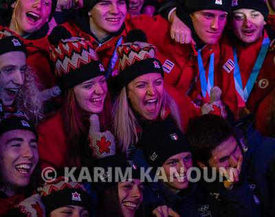 Lausanne_2020_-_Closing_Ceremony_-_Canada_Youth_Olympic_team