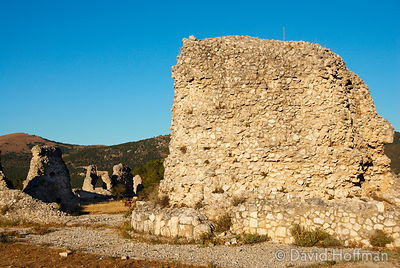 070911-21_Majella_086 Peltuinum, the ruins of an old Roman town of the Vestini, on the Via Claudia Nova, 20†km east of L'Aqui...