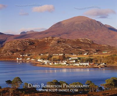 Image - Shieldaig village, Ross-shire, Scotland