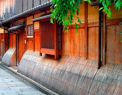 Wooden House in Gion