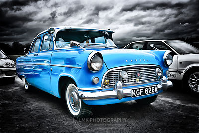 Ford Consul Blue