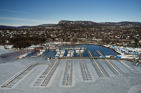 Solvik Marina at the Henie Onstad art centre