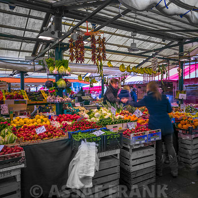 Fruits and vegetables market, Venice, Italy
