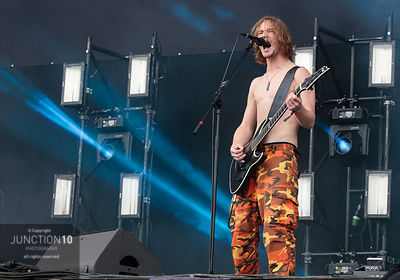 Alien Weaponry at the Download Festival, Donington Park, Castle Donington, United Kingdom - 15 Jun 2019