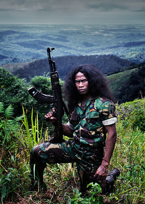 Falintil guerrilla, East Timor, March 1999.
