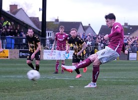 Auchinleck Talbot v Arbroath, William Hill Scottish Cup, Saturday 23rd November 2019