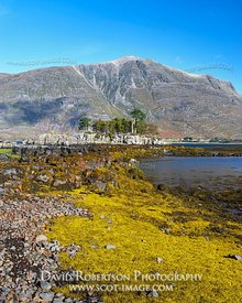 Image - Liathach from the south shore of Upper Loch Torridon, Torridon, Wester Ross, Highland, Scotland