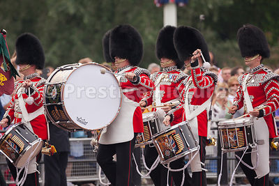 Irish Guards Drummers