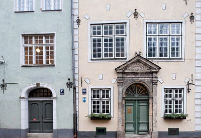 Riga, Three Brothers houses, Latvia