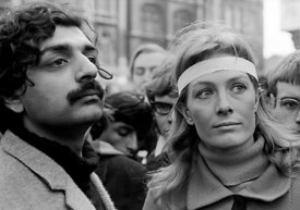 #70429,  Tariq Ali and Vanessa Redgrave lead the march, anti-Vietnam war demonstration from Trafalgar Sq to Grosvenor Sq Sund...