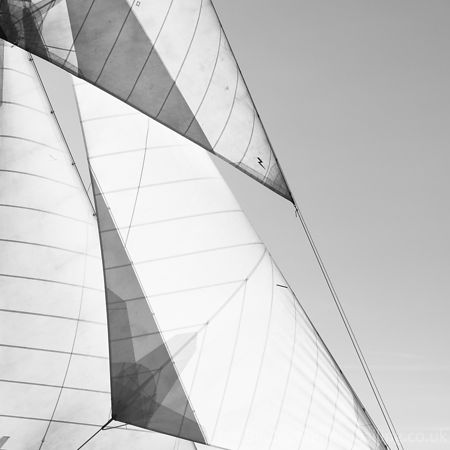 Abstract sail III