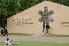 "#029096,  The Big ""Tent"" for the Royal College of Art Degree Show, Kensington Gardens, London  2007"