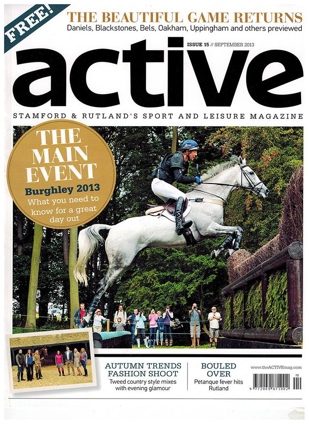 Dag Albert and Tubber Rebel for Active Magazine